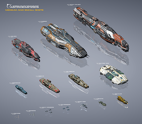 AE ships chart