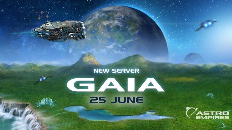 New Server Gaia