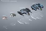 Hangar ships chart