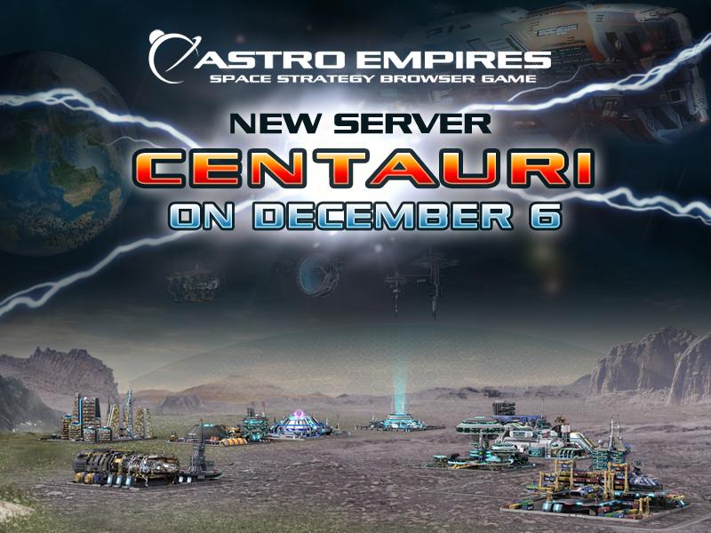 New Server Centauri