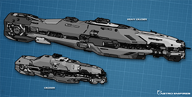 Heavy Cruiser concept